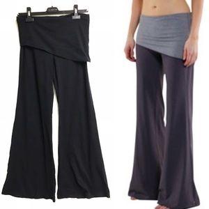 LULULEMON Vintage Wide Leg Fold Over Waltz Pants